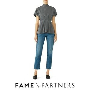 Fame & Partners Sebastian Top 0 Back Button Mock
